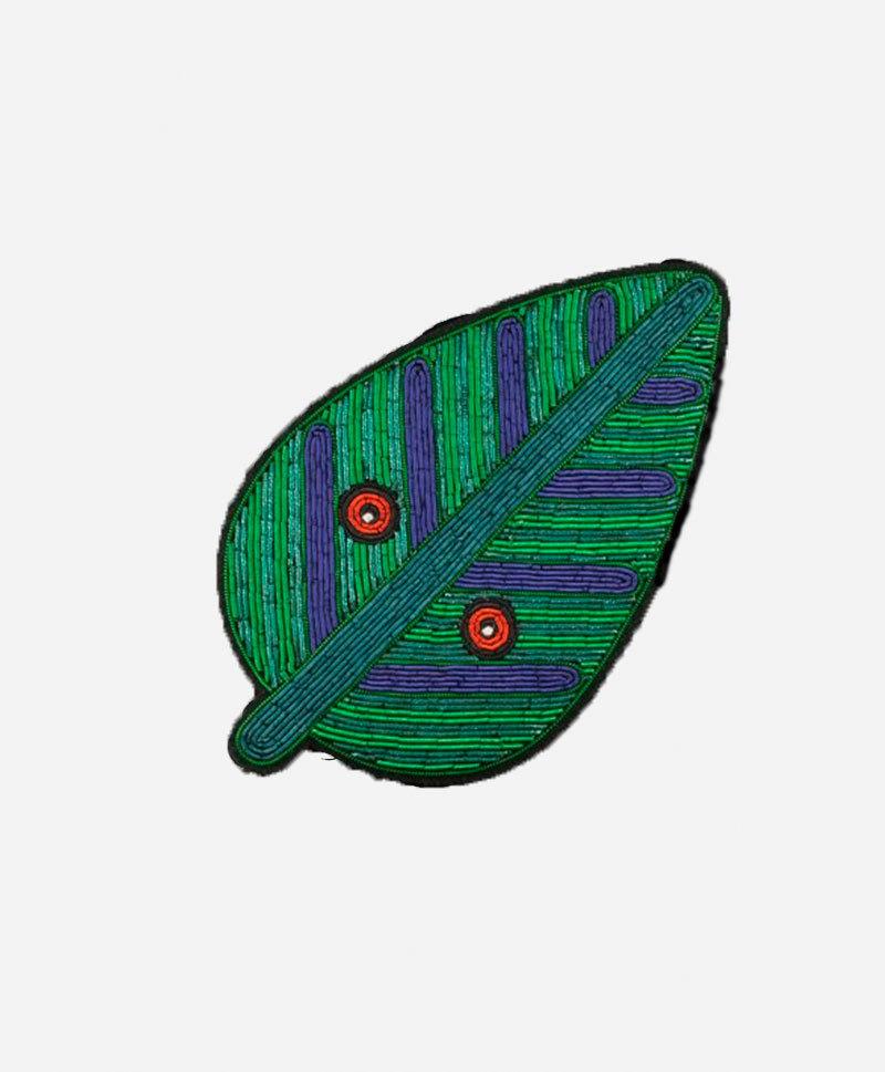 Брошь Large Leaf mask