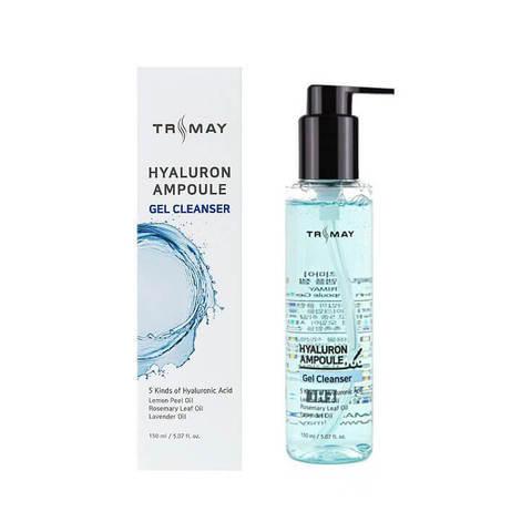 Очищающий гель-пенка с гиалуроновой кислотой Trimay Hyalurone Ampoule Gel Cleanser