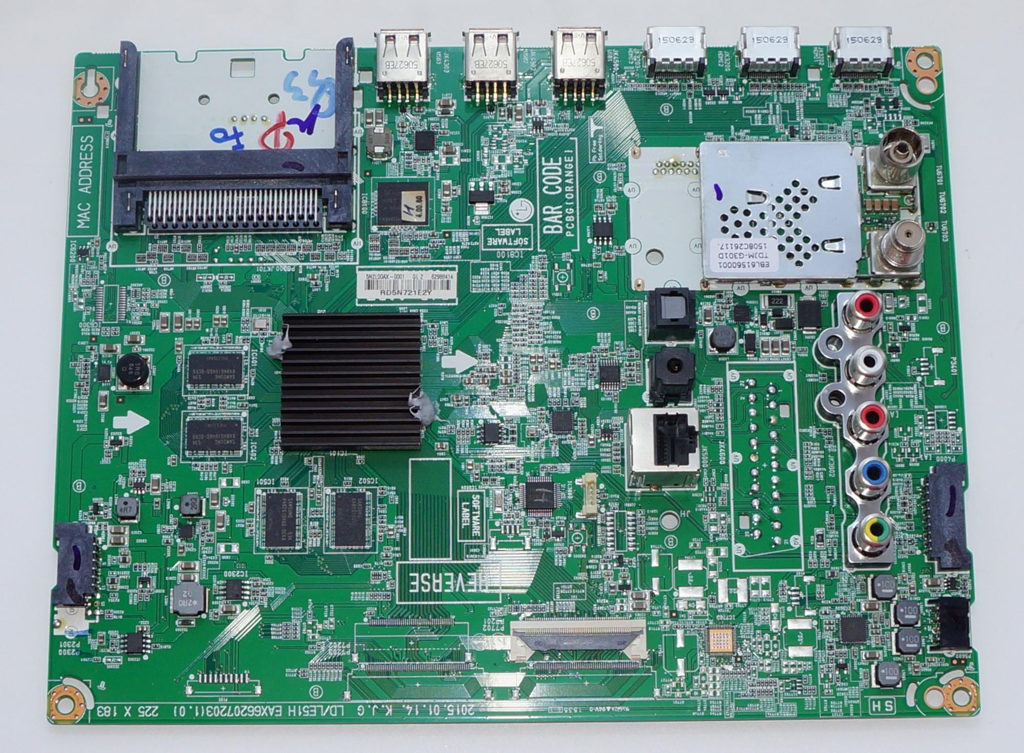 EAX66207203(1.0) EBU62988414 купить