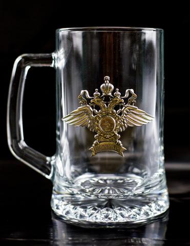Кружка пивная подарочная «Полиция»