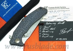 CKF Customized Morrf 4 Knife ONE-OFF