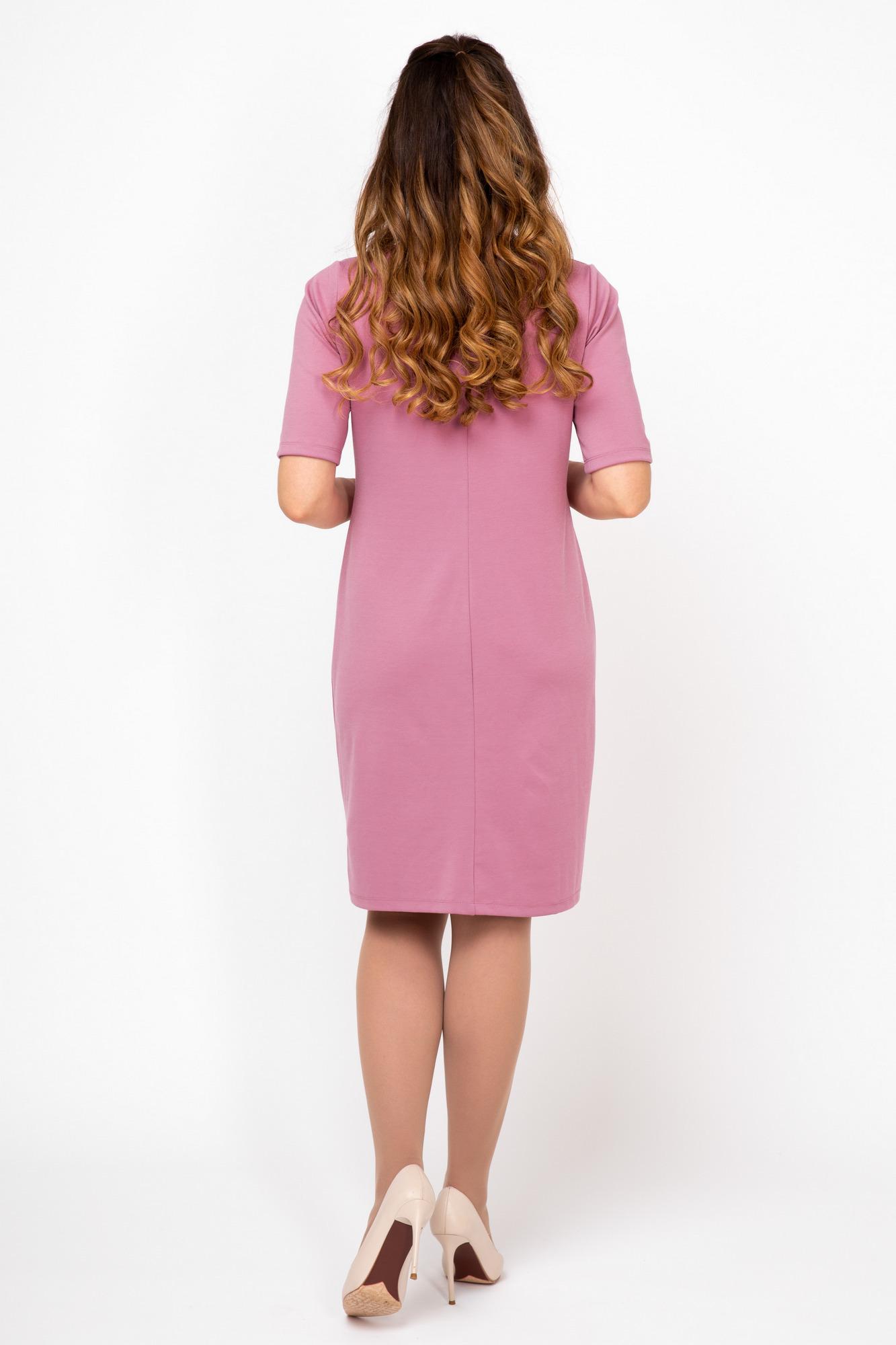 Платье для беременных 07965 розовый