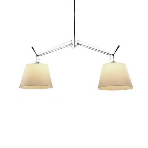 Потолочный светильник копия Tolomeo by Artemide (2 плафона)