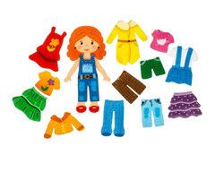 Игровой набор из фетра Кукла Зарина, Smile decor