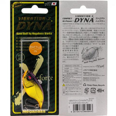 Воблер Megabass Vibration-X Dyna (Rattle In) / M Shampagne Kinkuro