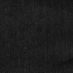 Хлопковый джинс с эластаном графитовый индиго