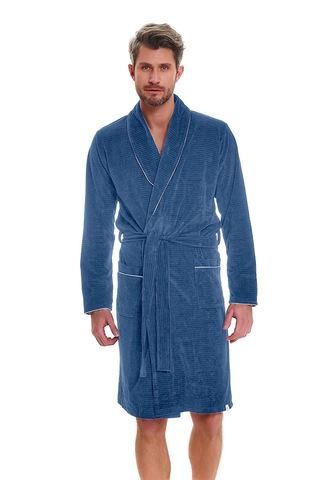 Мужской халат SMS.6063 Blue Doctor Nap