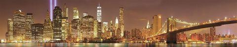 Ночной Манхэттен (фотопечать)