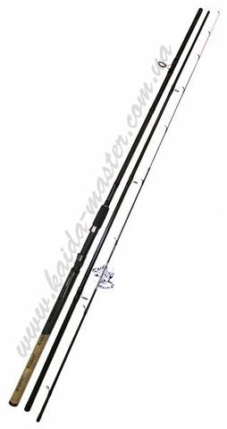 Фидер Kaida Pioneer 3,3 метра, тест 30-120 гр