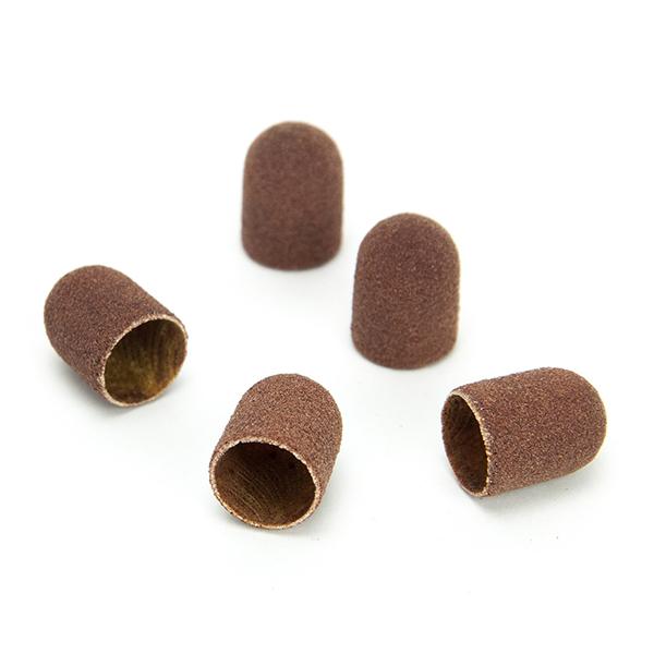 Абразивные и резиновые ruNail, Колпачок абразивный, 7*13 мм, 120 грит (5 шт.) 07397.jpg