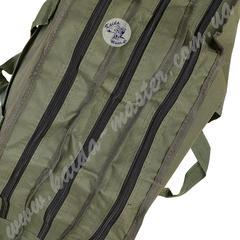 Мягкий чехол для удилищ Kaida 135 см на 3 секции с дополнительным карманом