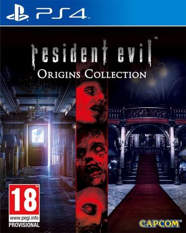 Resident Evil Origins Collection (PS4, русская документация)
