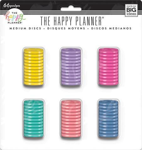 Набор дисков - (крепежный механизм для ежедневников) Happy Planner Expander (Classic) - 3.3 см