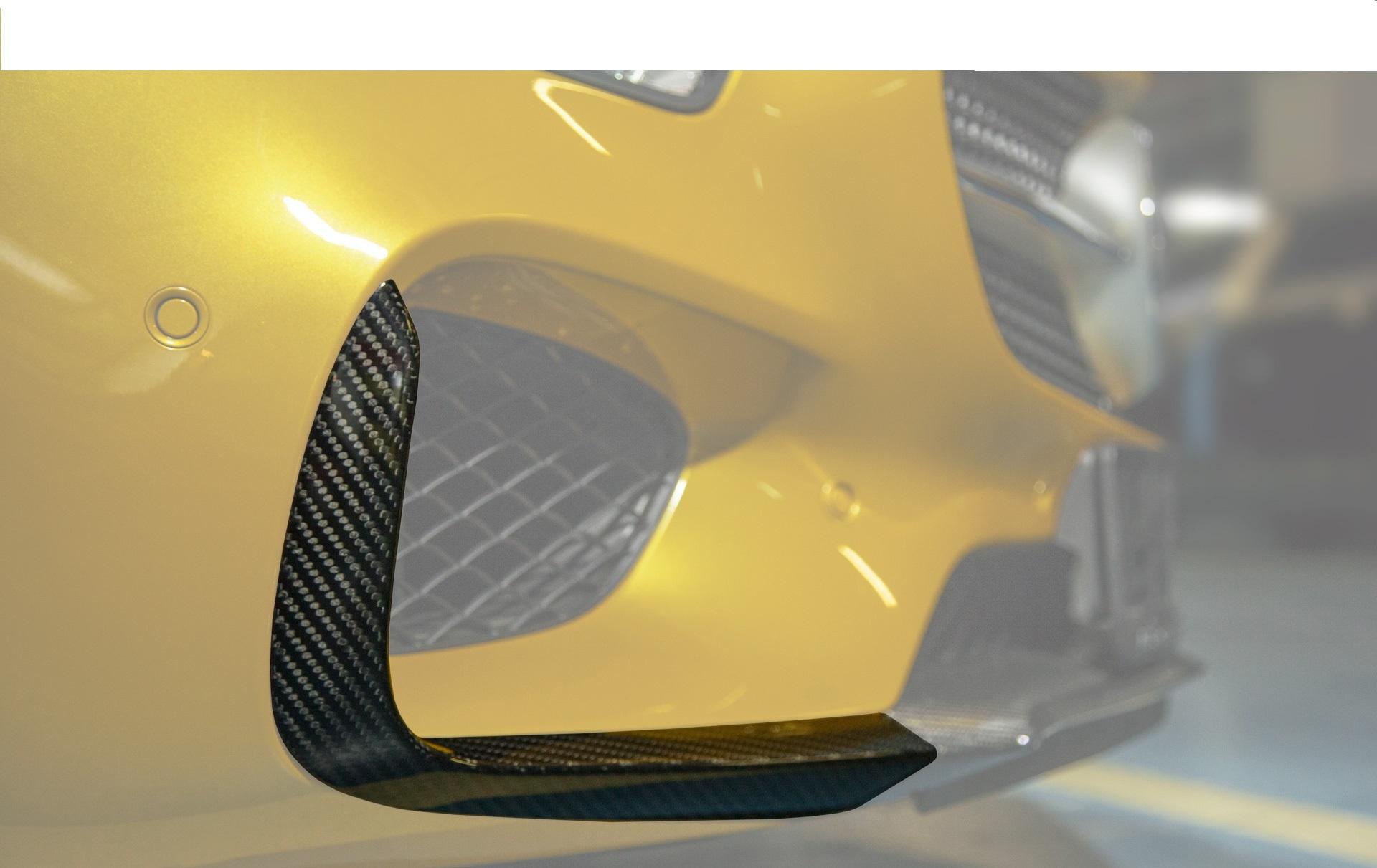 Карбоновые вставки в передние арки Edition 1 Style для Mercedes GT-class C190