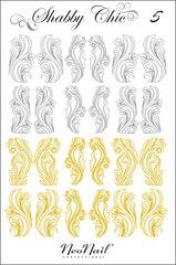 Трафарет для дизайна Shabby Chic 05 комбинированный