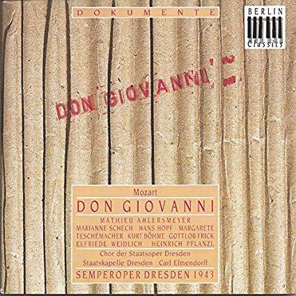 AHLESMEYER, MATHIEU: Mozart Don Giovanni