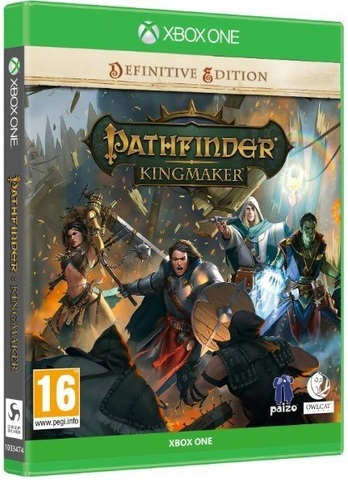Pathfinder: Kingmaker Definitive Edition Стандартное издание (Xbox One/Series X, русские субтитры)