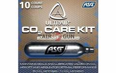 Набор баллонов CO2 ASG ULTRAIR (9 стандартных, 1 сервисный)