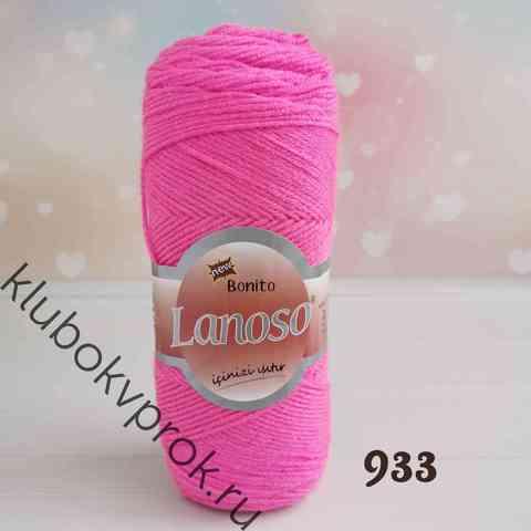LANOSO BONITO 933, Яркий розовый