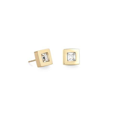 Пусеты Crystal-Gold 0140/21-1816 цвет прозрачный, золотой