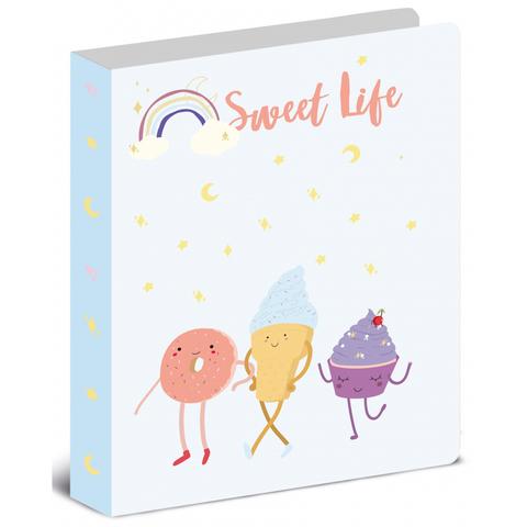 Папка с зажимом А4  Attache Selection Sweet life 320х240мм