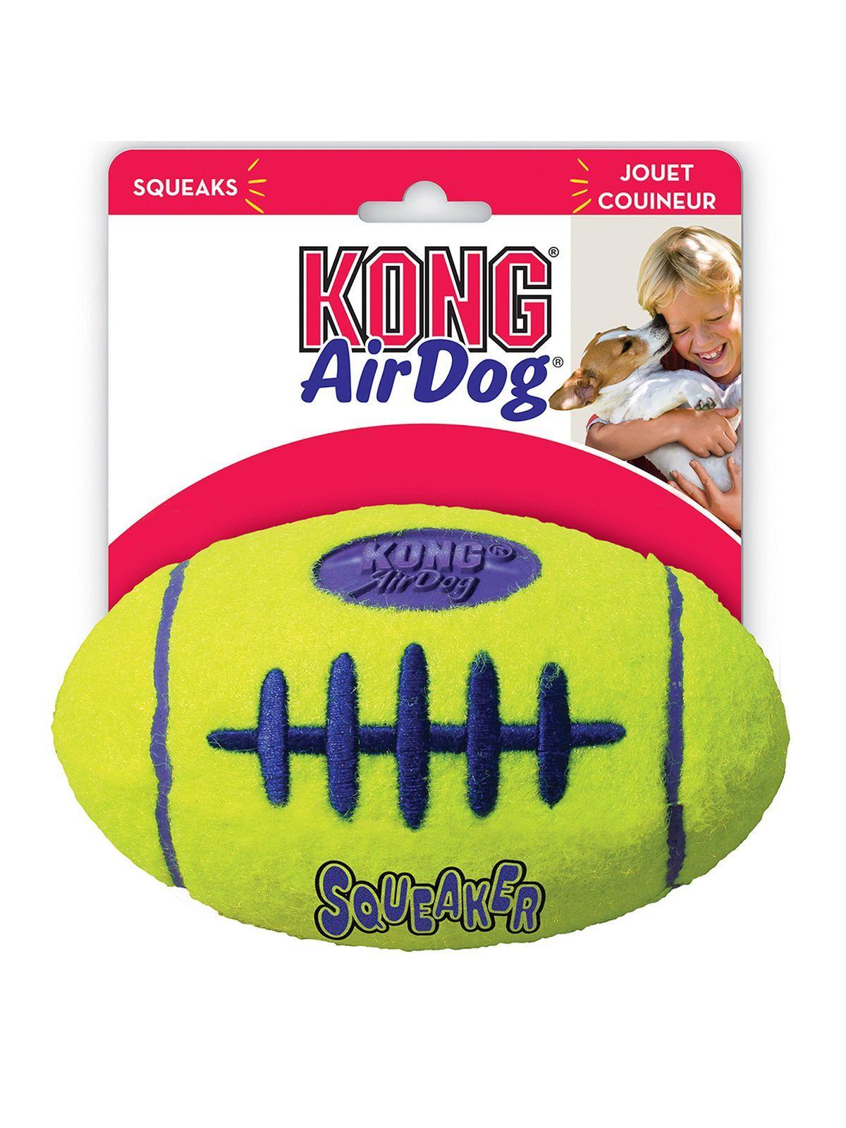 """Игрушки Игрушка для собак KONG Air """"Регби"""" малая 9 см ASFB3_1.jpeg"""
