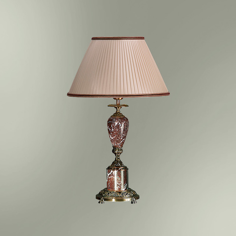 Настольная лампа с абажуром 38-08.57/3357 ПЕТЕРГОФ