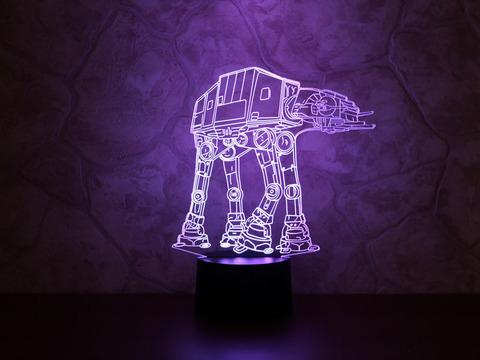 3D лампа AT-AT