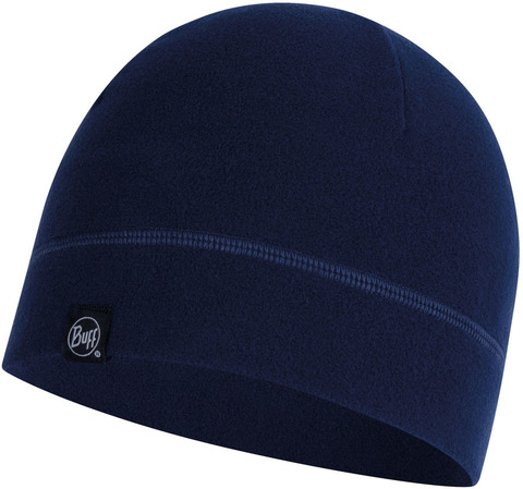 Флисовая шапка Buff Hat Polar Solid Night Blue фото 1