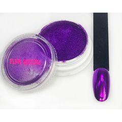 Pink House, Зеркальная втирка №04, фиолетовая