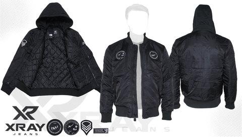 Куртка утепленная 'MA-1 Hooded Airborne' Black
