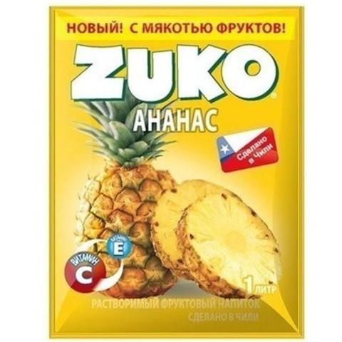 Растворимый напиток Zuko Ананас 25 г