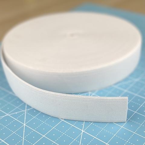 Резинка продержка, 3 см, белая