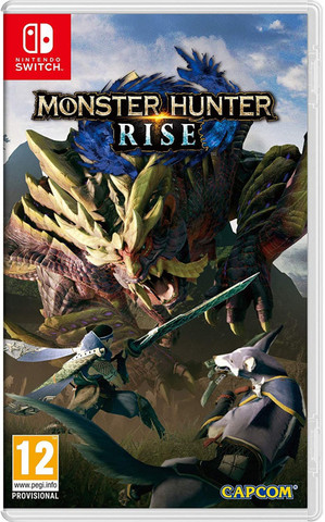 Monster Hunter Rise (Nintendo Switch, английская версия)