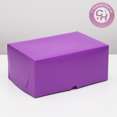 Коробка прямоугольная самосборная, 26*17*10 см, 1 шт.