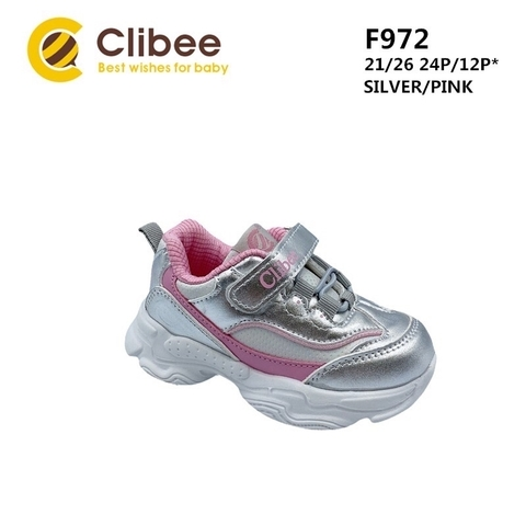 Clibee F972 Silver/Pink 21-26