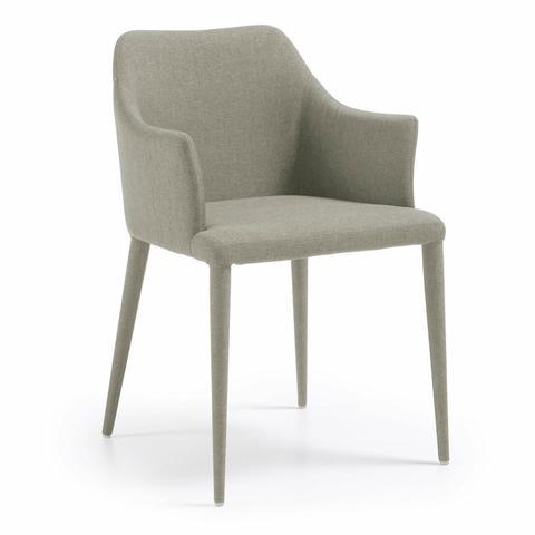 Кресло Danai ткань светло-серая