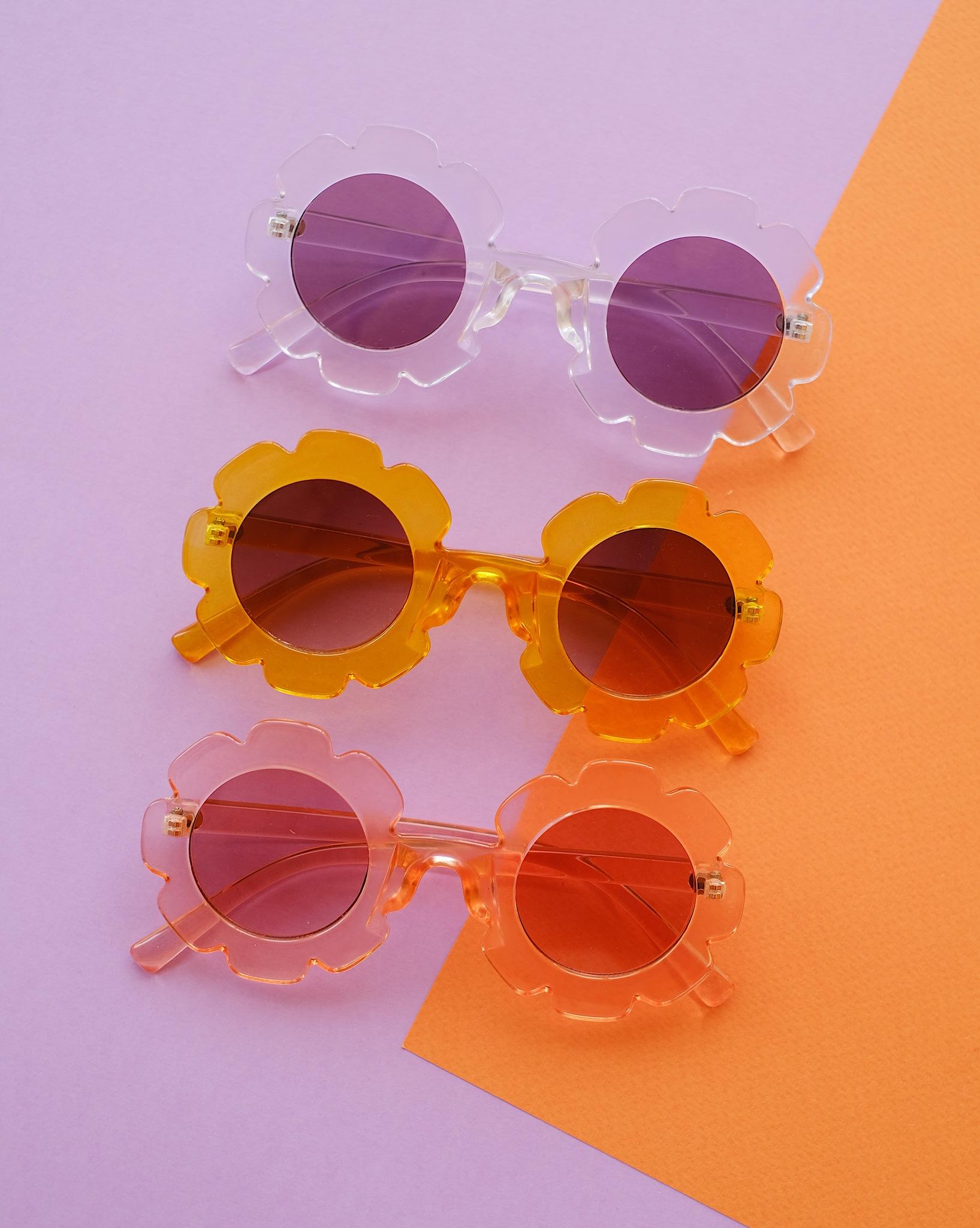 Солнечные очки DAISY оранжевый