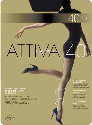 Женские колготки Attiva 40 Omsa