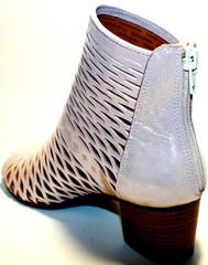 Женские босоножки на среднем каблуке - летние ботильоны Rifellini Rovigo