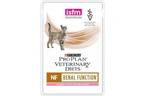Консервированный корм Purina Pro Plan Veterinary diets NF корм для кошек при патологии почек, с лососем,  85 г