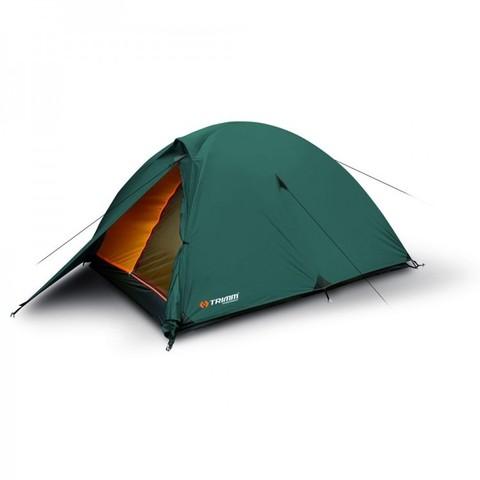 Кемпинговая палатка Trimm HUDSON, 3+1 (зеленая)