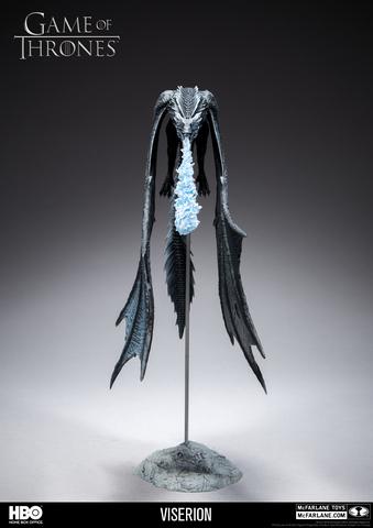 Игра Престолов фигурка Дракон Визерион ледяной
