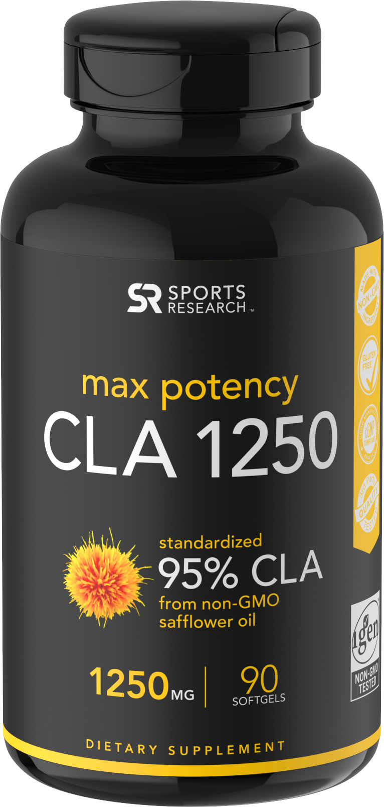 Sports-Research-CLA-1250-Max-Potency-1250-mg-90-Softgels-1