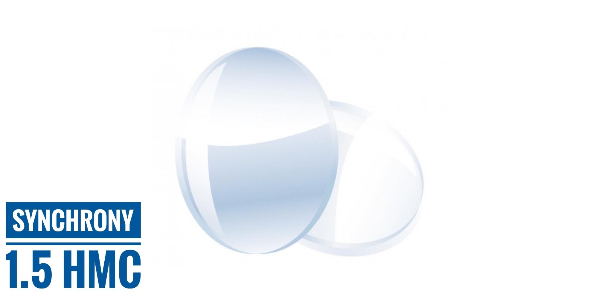 Линза полимерная с мультипокрытием (1,5, Германия), 1 шт.