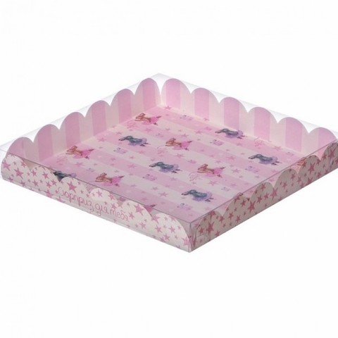 Коробка для сладостей 18 х 18 х 3 см