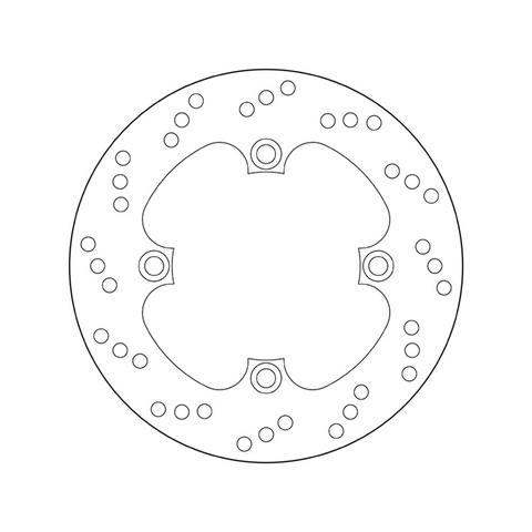 Тормозной диск BREMBO 68B40749 для мотоцикла HONDA CBR, VTR