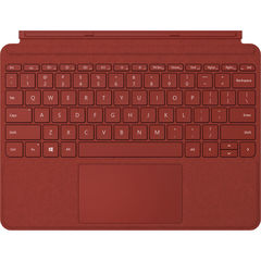 Клавиатура Microsoft Surface Go Signature (Poppy Red) РУС красный мак чехол-алькантра