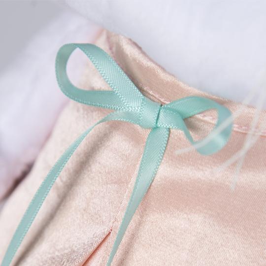 Ли-Ли в нежно-розовом платье с птичкой 27 см