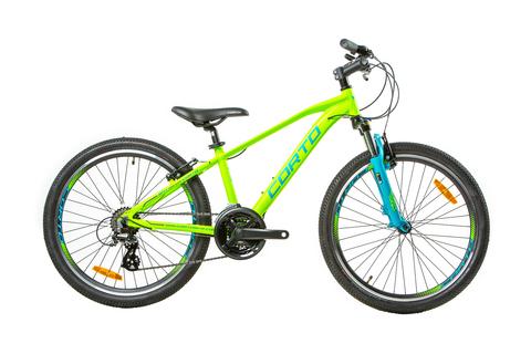 Подростковый велосипед Corto BAT 2021 матовый зеленый